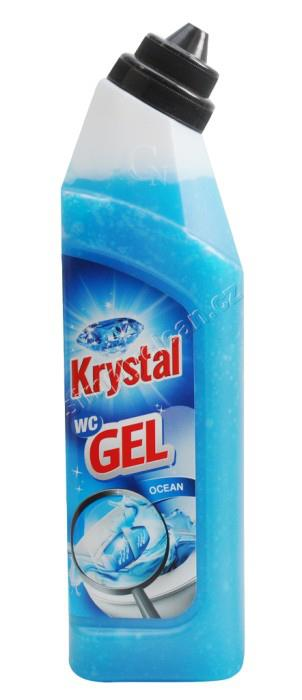 KRYSTAL WC GEL 750 ml Modrý