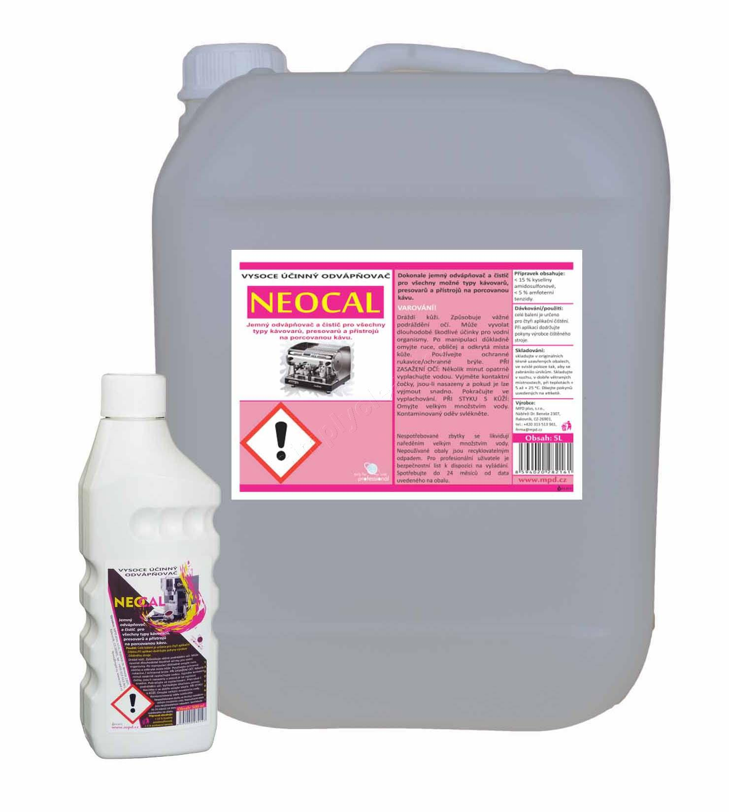 MPD NEOCAL odvápňovač 500ml, NEOCAL500PE